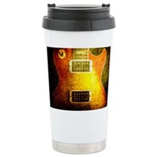 VINTAGE GUITAR Ceramic Travel Mug