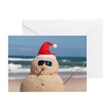 Beach holiday Greeting Cards (10 Pack)
