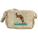 Cute Kangaroo Messenger Bag