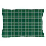 Plaid Classic Green Pillow Case