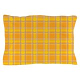 Plaid Classic Yellow Pillow Case
