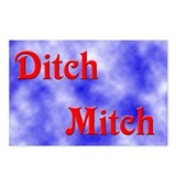 Ditch Mitch Postcards (Package of 8)