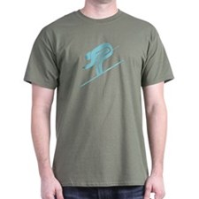 Snow Skiing Symbol T-Shirt