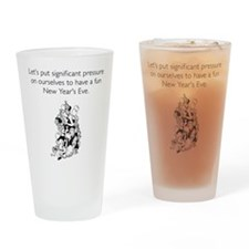 New Year's Pressure Drinking Glass