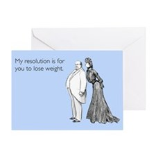 Weight Loss Resolution Greeting Card