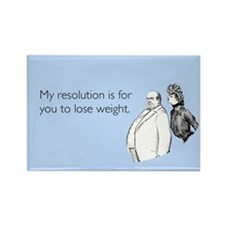 Weight Loss Resolution Rectangle Magnet