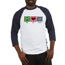 Peace Love Puppets Baseball Jersey