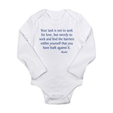 Rumi Long Sleeve Infant Bodysuit