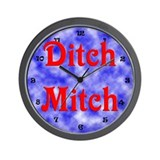 Ditch Mitch Wall Clock