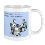 Avoiding Friends & Family Mug