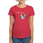 Avoiding Friends & Family Women's Dark T-Shirt