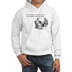 Avoiding Friends & Family Hooded Sweatshirt