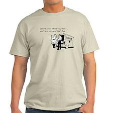 New Years Ambulance Light T-Shirt
