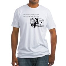 New Years Ambulance Fitted T-Shirt