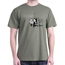 New Years Ambulance Dark T-Shirt