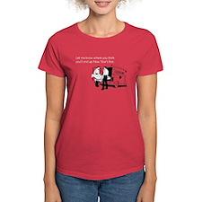New Years Ambulance Women's Dark T-Shirt
