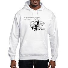 New Years Ambulance Hooded Sweatshirt