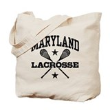 Maryland Lacrosse Tote Bag