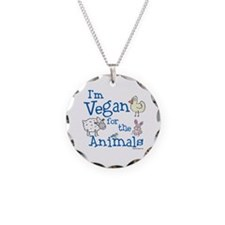 Vegan for Animals Necklace