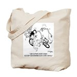 Sure Elephants Never Forget Tote Bag