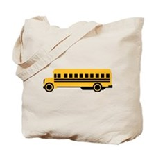 School bus Tote Bag