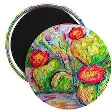 """Cactus, desert, art, 2.25"""" Magnet (10 pack)"""