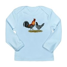 Delaware Blue Hen Long Sleeve Infant T-Shirt