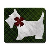 Harvest Moon's Christmas Scottie Mousepad