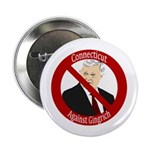 Connecticut Against Gingrich button