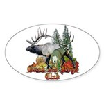 Good old boys club Sticker (Oval 50 pk)