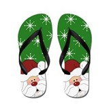 Christmas flip flops Flip Flops