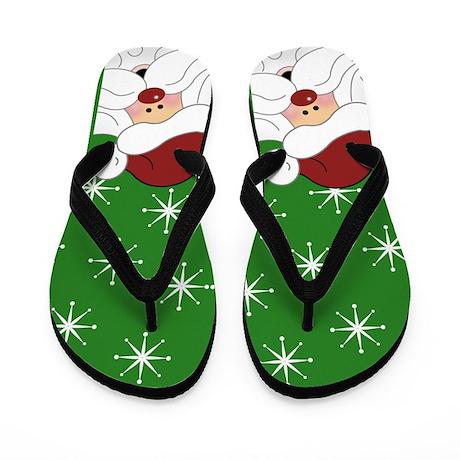 http://www.cafepress.com/+santa_claus_christmas_flip_flops_green,598037287?aid=116682074