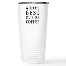 WORLD'S BEST CUP OF COFFEE Travel Mug