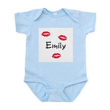kiss emily Infant Bodysuit