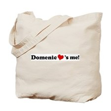 Domenic loves me Tote Bag