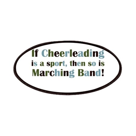 Band is a Sport Patches