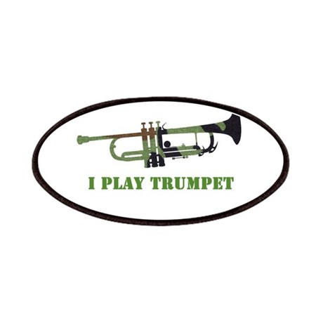 Camo Trumpet Patches