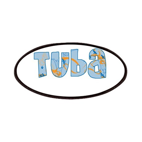 Patterned Tuba Patches
