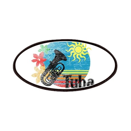 Hawaiian Tuba Patches