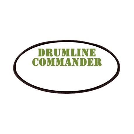 Drumline Commander Patches