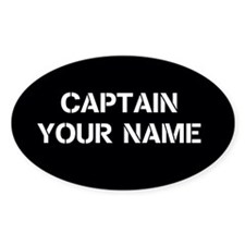 CUSTOMIZABLE CAPTAIN Decal