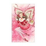Xmas Ballet Fairy Decal