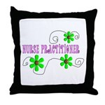 Nurse Practitioner III Throw Pillow