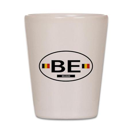 Belgium 2F Shot Glass