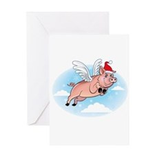 Merry Pigmas! Greeting Card
