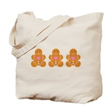 Gingerbread Cookie Tote Bag