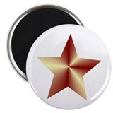 Bronze Star 2.25&quot; Magnet (10 pack)