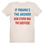 Obama Answer: Organic Kids T-Shirt