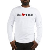 Eli loves me Long Sleeve T-Shirt
