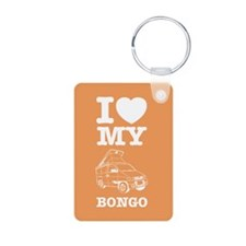 I Love My Bongo - Orange Keychains